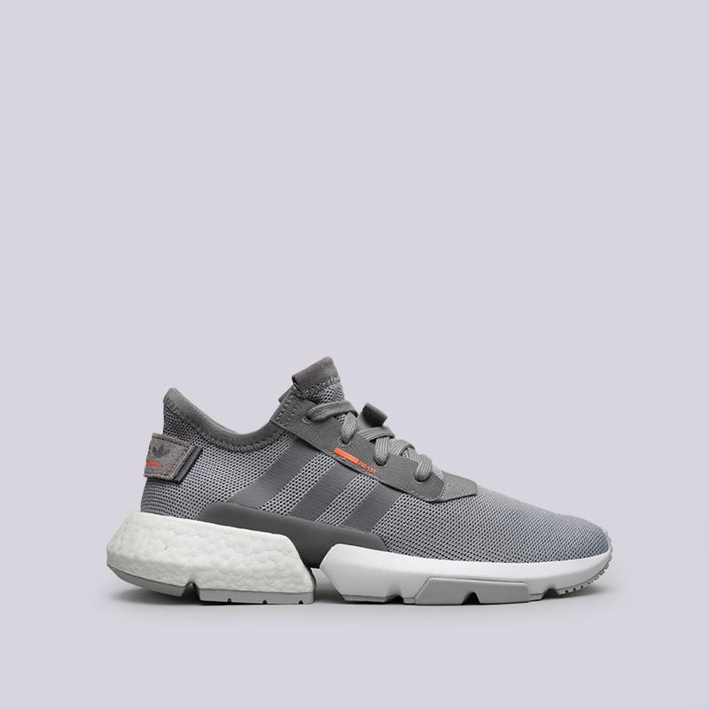 мужские серые  кроссовки adidas pod-s3.1 B37365 - цена, описание, фото 1