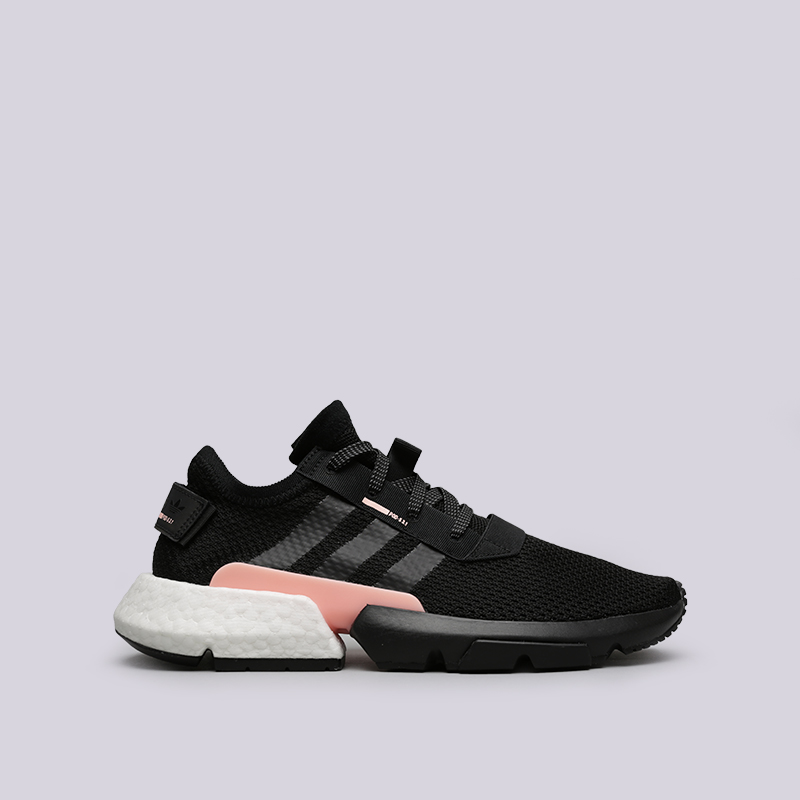 мужские чёрные  кроссовки adidas pod-s3.1 B37447 - цена, описание, фото 1