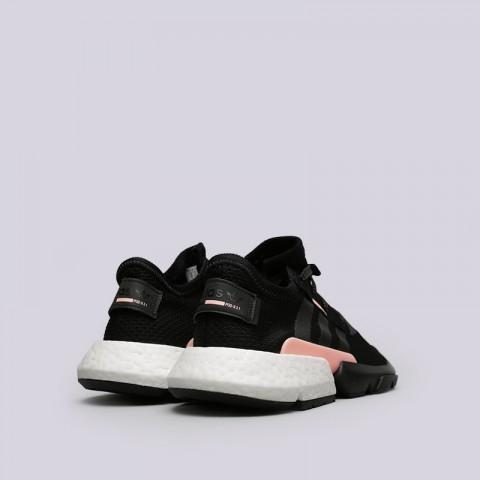 мужские чёрные  кроссовки adidas pod-s3.1 B37447 - цена, описание, фото 4