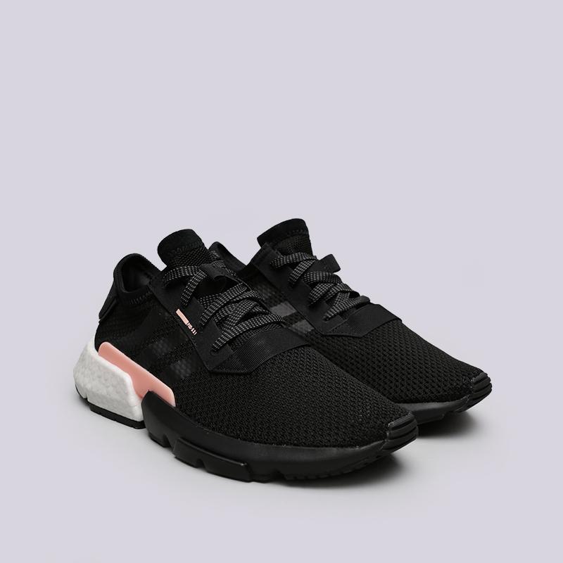 мужские чёрные  кроссовки adidas pod-s3.1 B37447 - цена, описание, фото 3