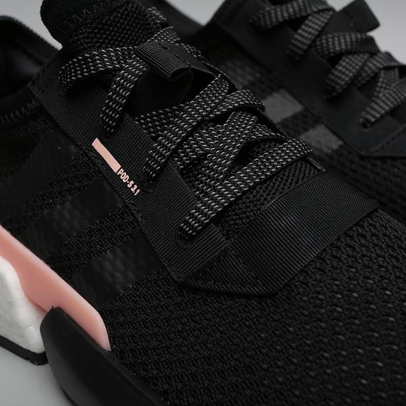 мужские чёрные  кроссовки adidas pod-s3.1 B37447 - цена, описание, фото 5
