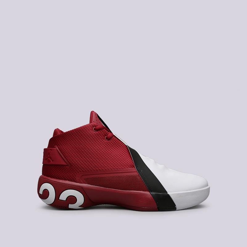 мужские красные, белые кроссовки jordan ultra fly 3 AR0044-601 - цена,  описание 55c36ae5dce