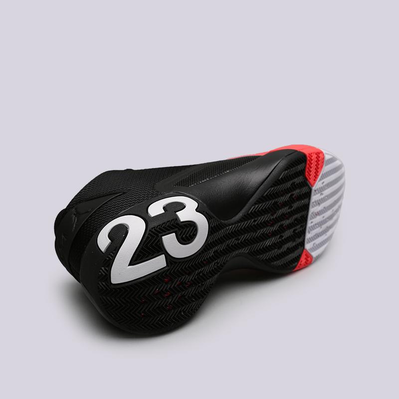 мужские чёрные, белые  кроссовки jordan ultra fly 3 AR0044-023 - цена, описание, фото 2