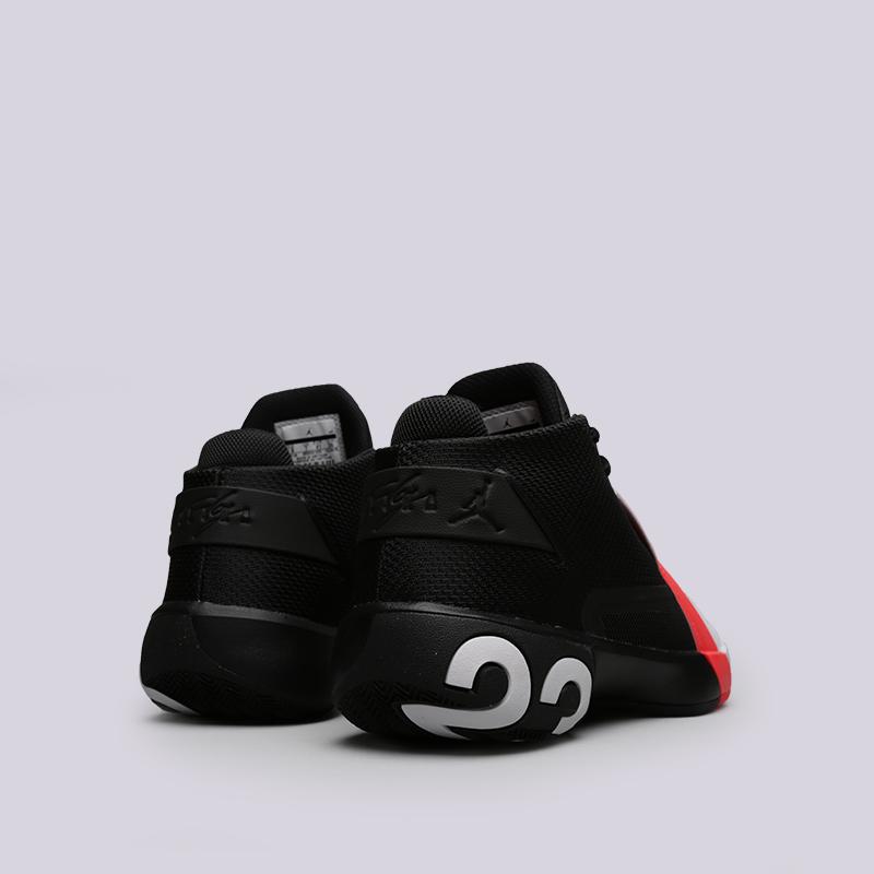 мужские чёрные, белые  кроссовки jordan ultra fly 3 AR0044-023 - цена, описание, фото 4