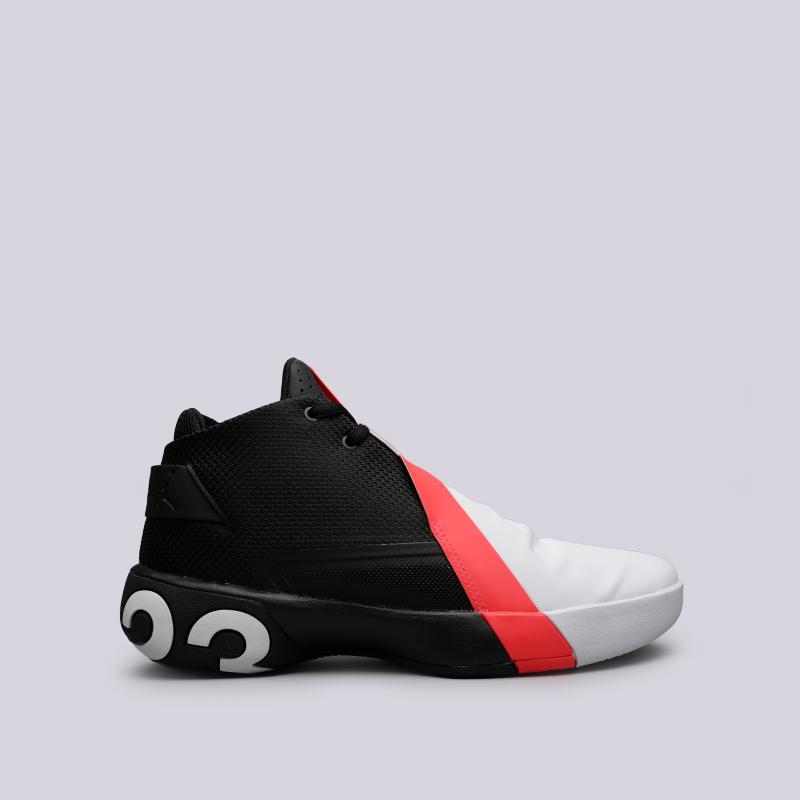 мужские чёрные, белые кроссовки jordan ultra fly 3 AR0044-023 - цена,  описание a6b42462b70