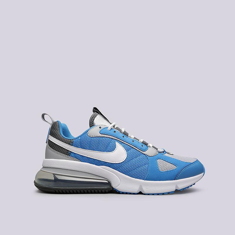 a250f6c0 мужские голубые, серые, белые кроссовки nike air max 270 futura AO1569-003 -