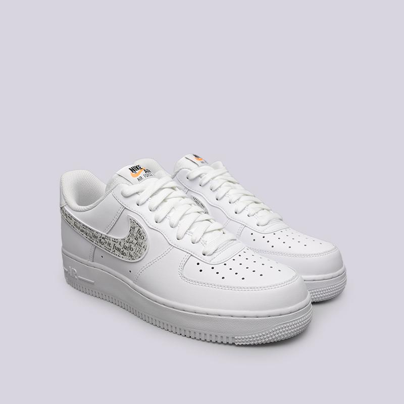 7a285d9a мужские белые кроссовки nike air force 1 '07 lv8 jdi lntc BQ5361-100 -