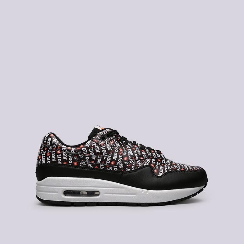 e022a783 мужские чёрные кроссовки nike air max 1 premium 875844-009 - цена, описание,
