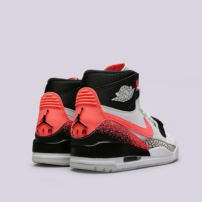 5d5695c6 мужские белые, черные, розовые кроссовки jordan legacy 312 nrg AQ4160-108 -  цена