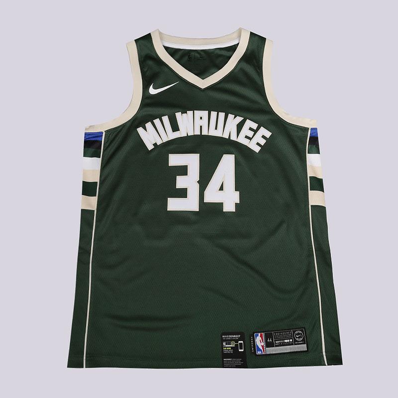a3ec5521961b мужскую зеленую майку nike nba giannis antetokounmpo icon edition swingman  jersey 864489-323 - цена