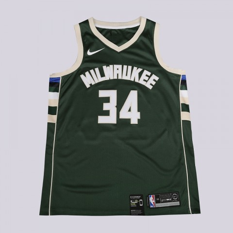 Майка Nike NBA Giannis Antetokounmpo Icon Edition Swingman Jersey