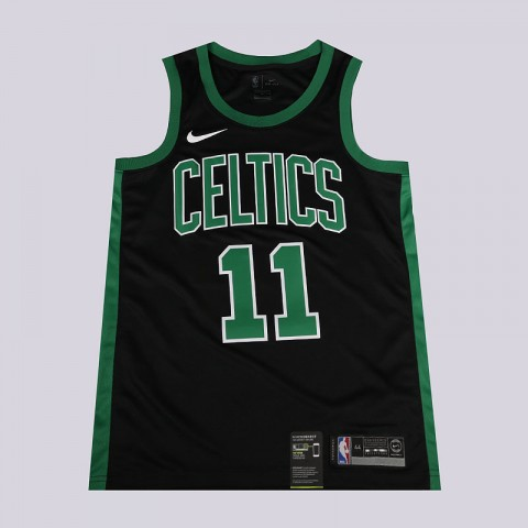 мужскую черную, зеленую  майку nike nba connected jersey statement edition swingman jersey 877198-014 - цена, описание, фото 1