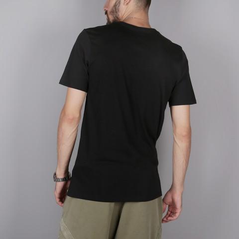 мужскую чёрную  футболка nike kyrie irving 923689-010 - цена, описание, фото 4