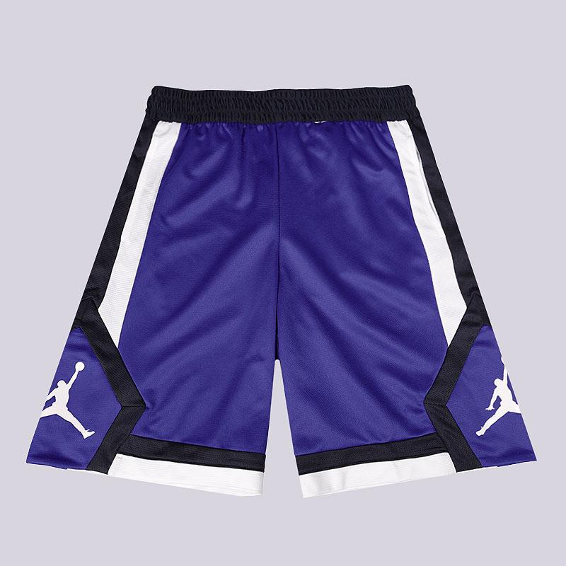 f87b608c мужские синие шорты jordan rise men's basketball shorts 924562-407 - цена,  описание,