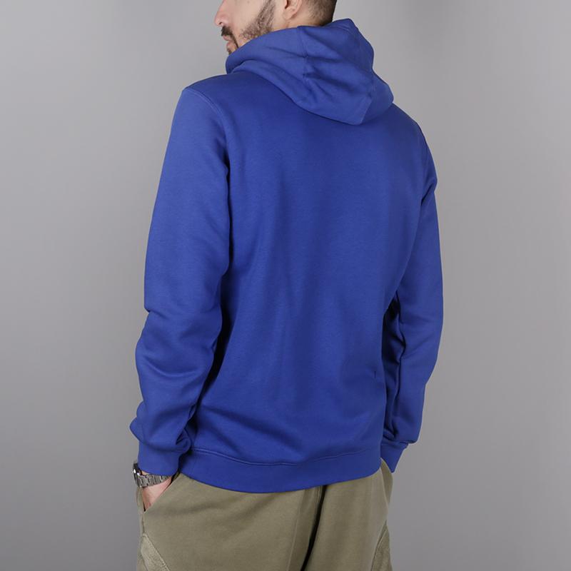 62a491ad мужскую синюю толстовка nike new york knicks AA3683-495 - цена, описание,  фото