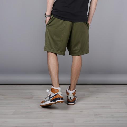 мужские зелёные  шорты jordan jumpman air mesh AA4607-395 - цена, описание, фото 4
