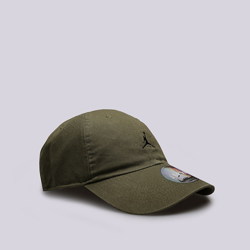 зеленую  кепка jordan jumpman heritage 86 adjustable hat AR2117-395 - цена, описание, фото 2