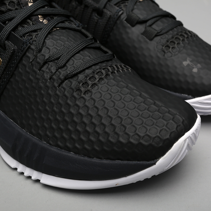 099ef275 мужские чёрные кроссовки under armour ua drive 4 low 3000086-101 - цена,  описание