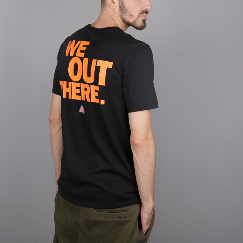 7cc13f003 мужскую чёрную футболка nike acg tee AQ3951-010 - цена, описание, фото 4