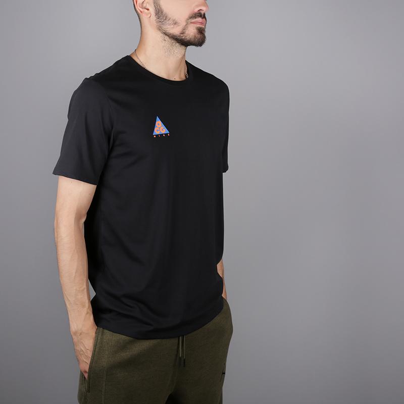 565d723ce мужскую чёрную футболка nike acg tee AQ3951-010 - цена, описание, фото 1