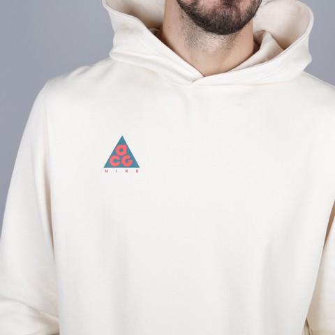 мужскую бежевую  толстовка nike acg pullover hoodie AT5500-258 - цена, описание, фото 2