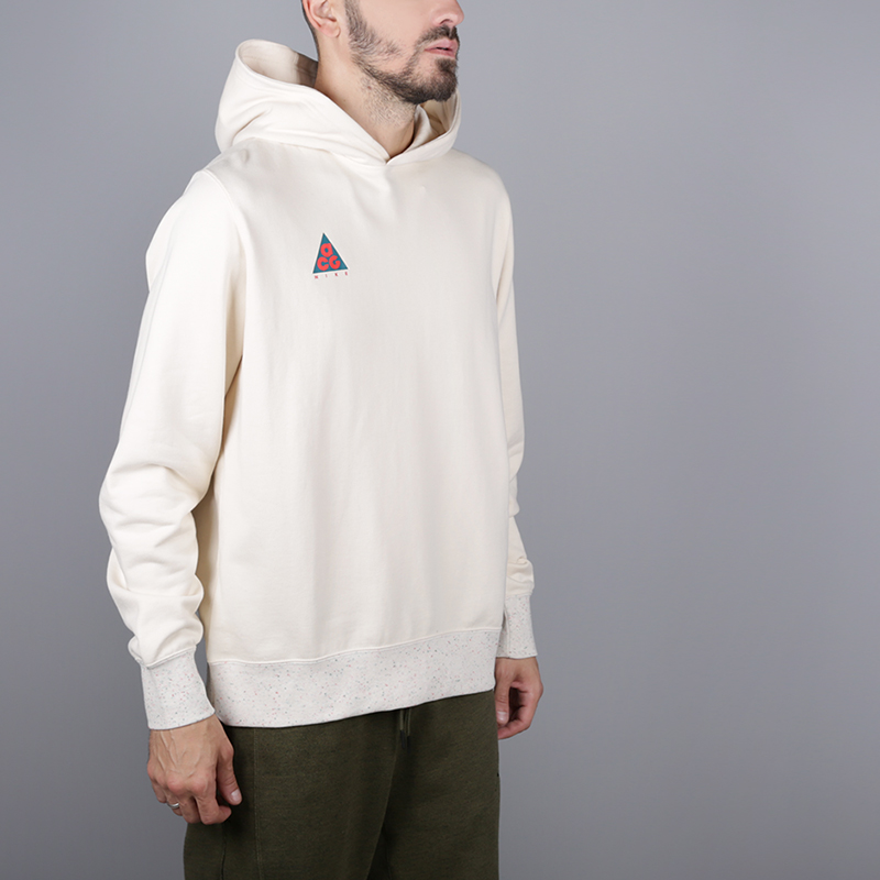 мужскую бежевую  толстовка nike acg pullover hoodie AT5500-258 - цена, описание, фото 3