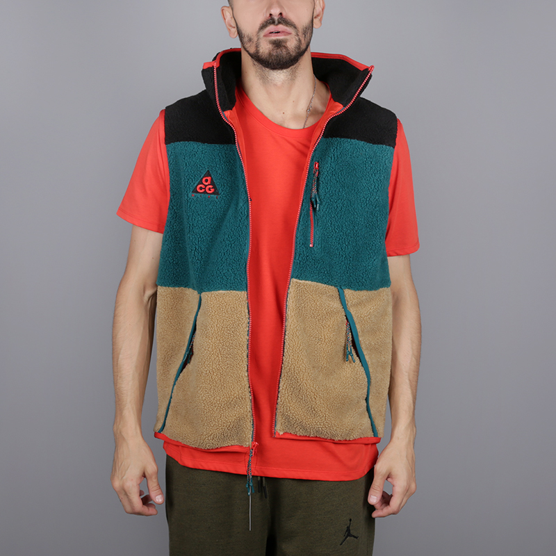 79d16d86 мужской мультиколор жилет nike acg vest AT5498-011 - цена, описание, фото 1