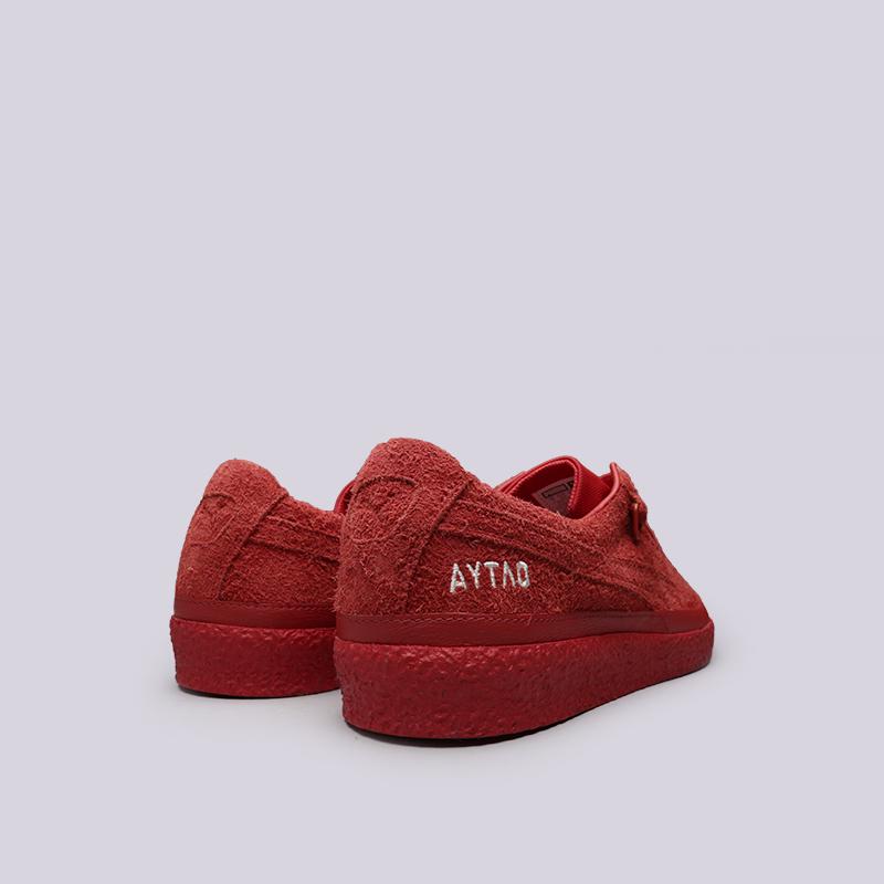 мужские красные  кроссовки puma te-ku outlaw 36709203 - цена, описание, фото 5