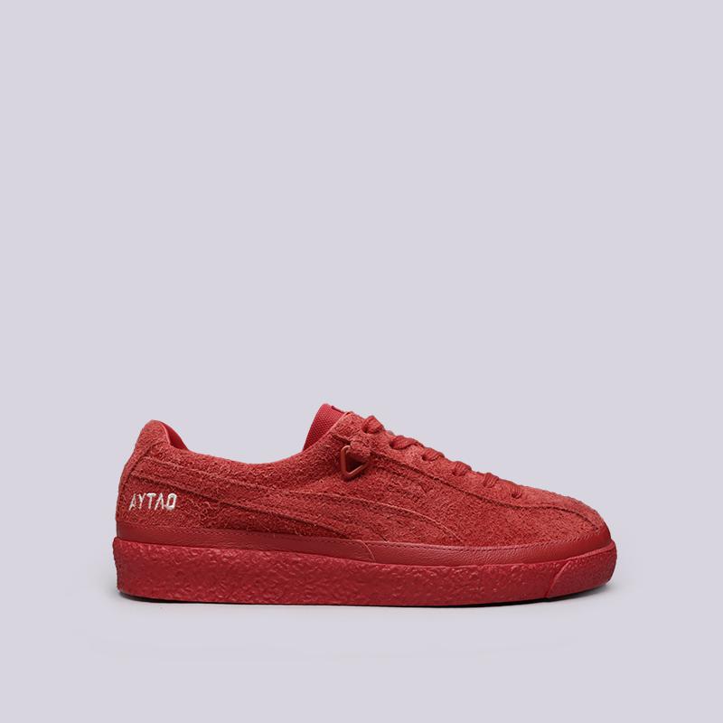 мужские красные  кроссовки puma te-ku outlaw 36709203 - цена, описание, фото 1