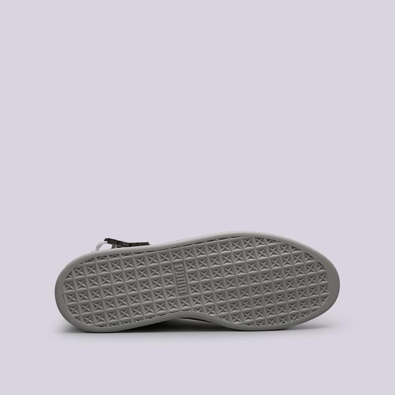 мужские серые  кроссовки puma suede classic x theweeknd 36631002 - цена, описание, фото 2
