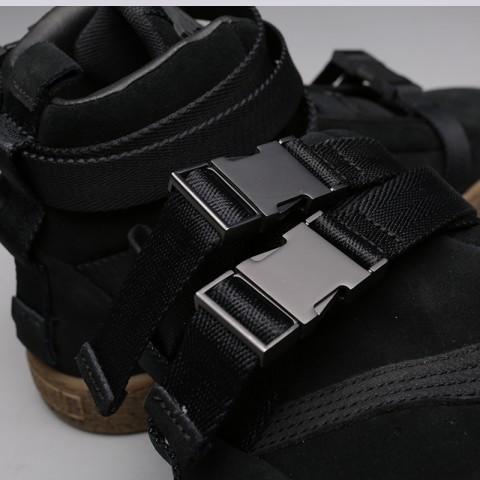 мужские чёрные  кроссовки puma suede classic x theweeknd 36631001 - цена, описание, фото 7