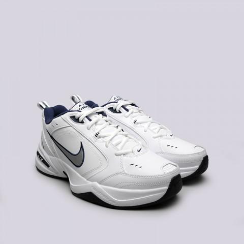 мужские белые  кроссовки nike air monarch iv 415445-102 - цена, описание, фото 3