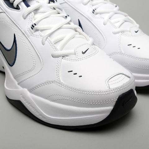 мужские белые  кроссовки nike air monarch iv 415445-102 - цена, описание, фото 5