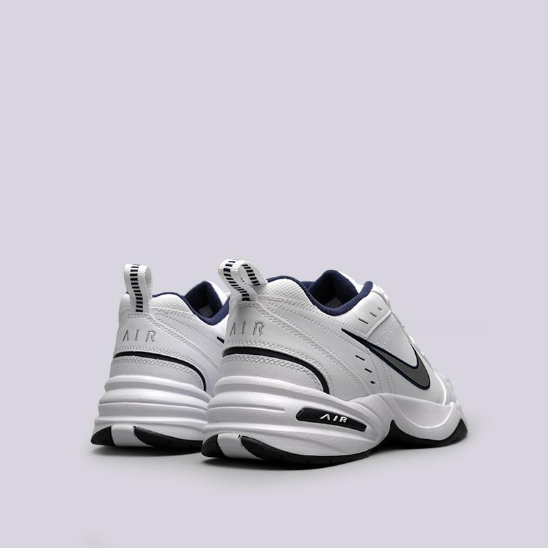 b3c5ce64 мужские белые кроссовки nike air monarch iv 415445-102 - цена, описание,  фото