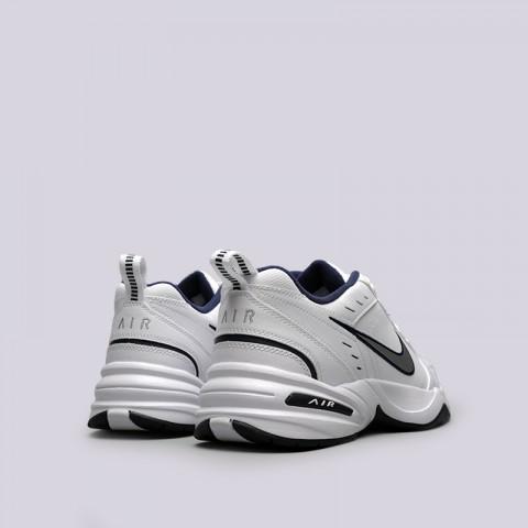 мужские белые  кроссовки nike air monarch iv 415445-102 - цена, описание, фото 4