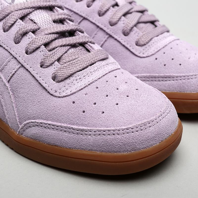 женские фиолетовые  кроссовки asics tiger gel-vickka trs 1192A048-500 - цена, описание, фото 5
