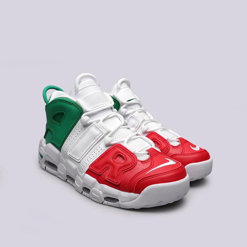 niepokonany x tania wyprzedaż usa super słodki Мужские кроссовки Air More Uptempo '96 Italy QS от Nike (AV3811-600)  оригинал - купить по цене 12990 руб. в интернет-магазине Streetball