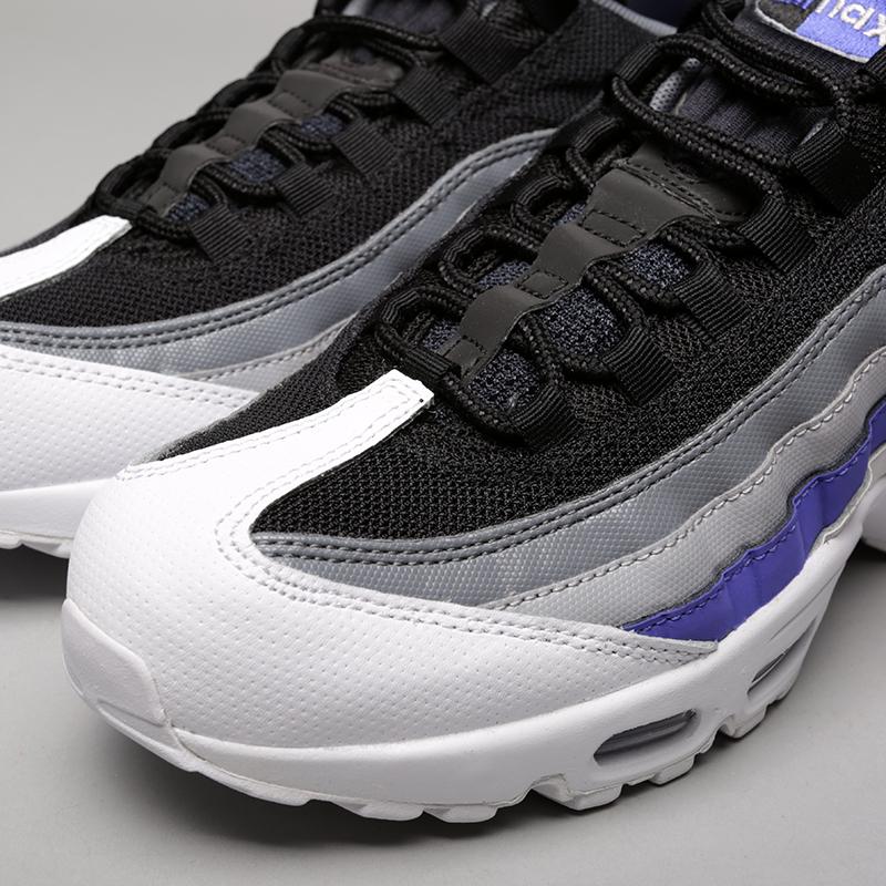 Купить мужские серые  кроссовки nike air max 95 essential в магазинах Streetball изображение - 5 картинки