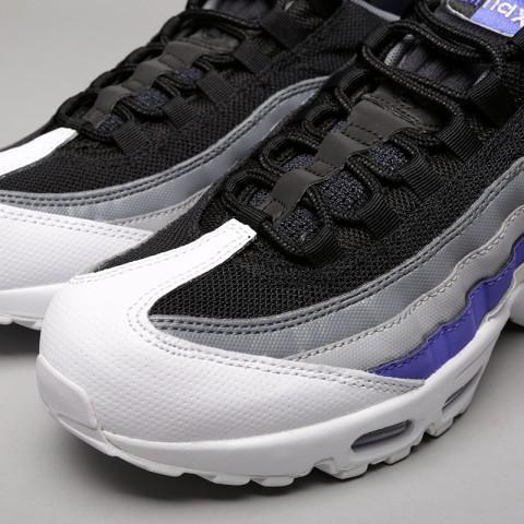 Купить мужские серые  кроссовки nike air max 95 essential в магазинах Streetball - изображение 5 картинки