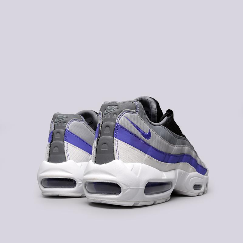 Купить мужские серые  кроссовки nike air max 95 essential в магазинах Streetball изображение - 4 картинки