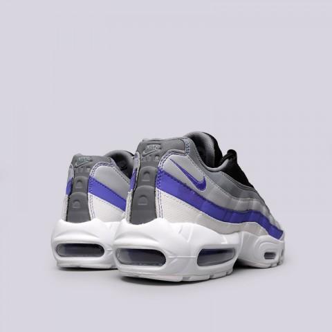 Купить мужские серые  кроссовки nike air max 95 essential в магазинах Streetball - изображение 4 картинки