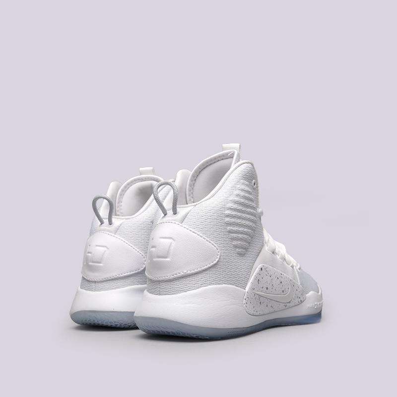 белые  кроссовки nike hyperdunk x AO7893-101 - цена, описание, фото 4