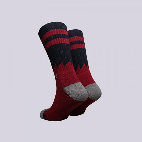 мужские бордовые  носки stance lopsided M556D16LOP - цена, описание, фото 2