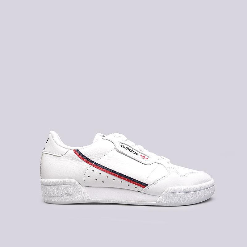 9077aac1 белые кроссовки adidas continental 80 B41674 - цена, описание, фото 1