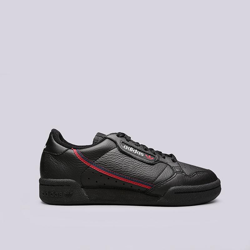 a9ca3ada черные кроссовки adidas continental 80 B41672 - цена, описание, фото 1