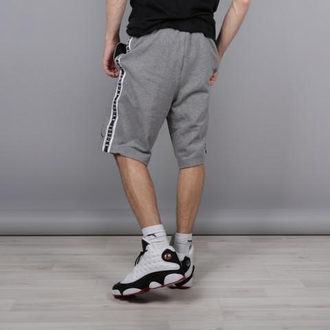 мужские серые  шорты jordan hbr fleece AR2216-091 - цена, описание, фото 3