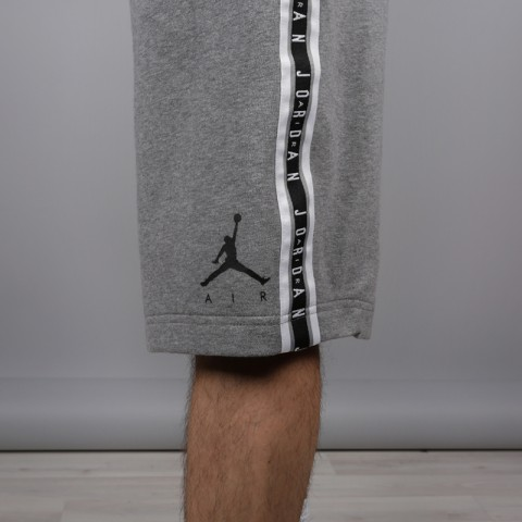 мужские серые  шорты jordan hbr fleece AR2216-091 - цена, описание, фото 4