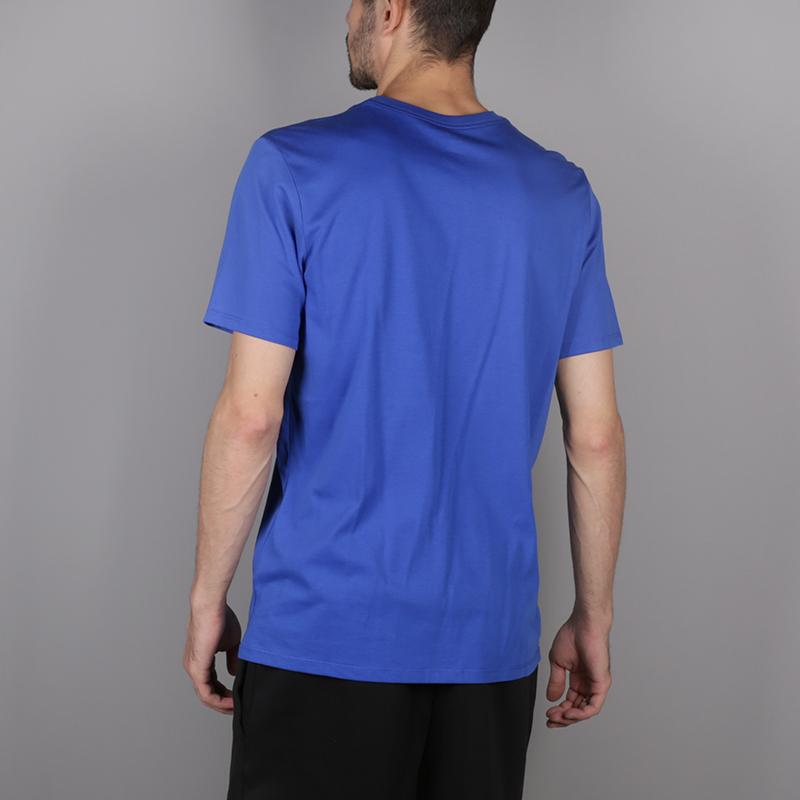 мужскую синюю  футболка jordan jumpman 23/7 925602-486 - цена, описание, фото 4