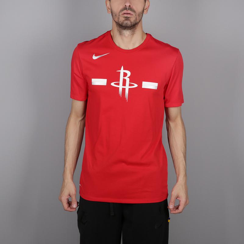мужскую красную  футболка nike rockets 933525-657 - цена, описание, фото 1