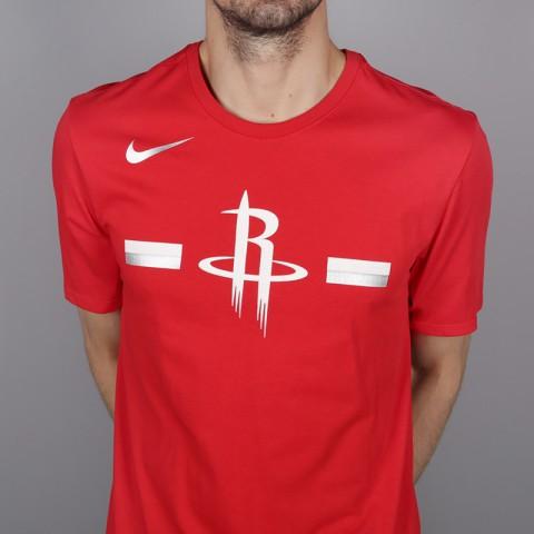 мужскую красную  футболка nike rockets 933525-657 - цена, описание, фото 2